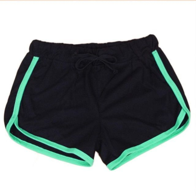 exercise wear for women summer casual short plus size cotton black short femininos ladies workout high
