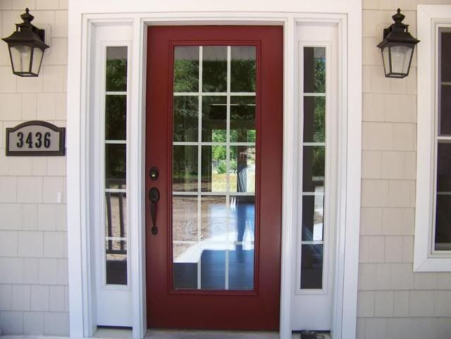 Benjamin Moore Cottage Red What Color Front Door? Pic Included