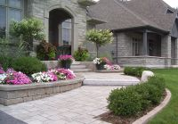Front Entrance Pickering   Front Porch/Entry/Landscaping ...