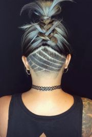 stylish undercut hair ideas