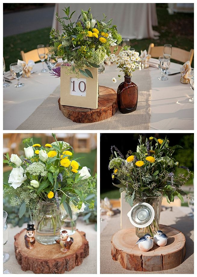 Backyard Wedding Ideas Wedding Centerpiece Ideas Swankyluv