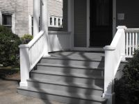 steps to enclosed front porch   Porch Stairs  Brian Casey ...