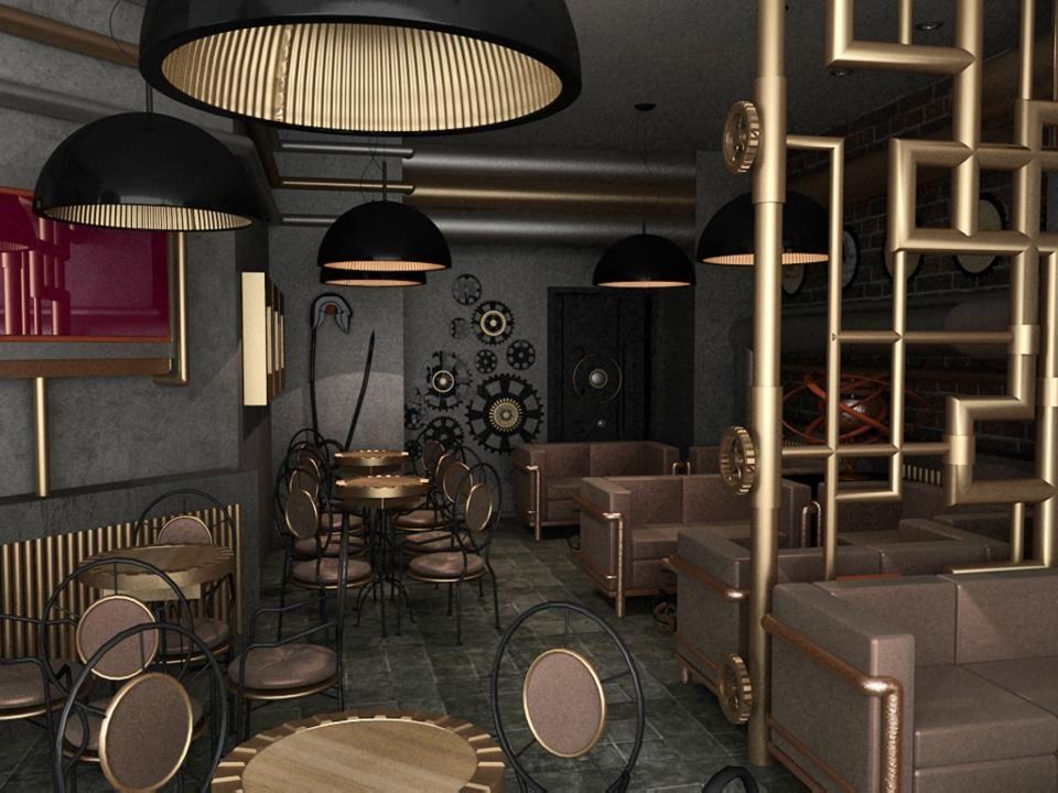 Steampunk Interior Design Unique Decoration 16984 375175592581457