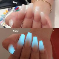 glow in the dark ombre   hot styles! (nails edition ...