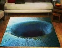 A rug with a neat 3D effect! | Wild and Crazy Area Rugs ...