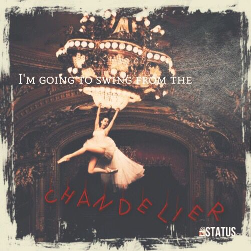 I M Gonna Swing From The Chandelier Live Like