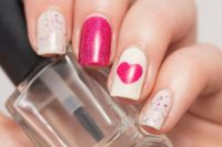 Pics For > Easy Nail Designs For Valentines Day