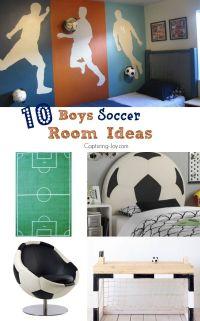 10 Boys Soccer Room Ideas | Soccer, Furniture and Boys