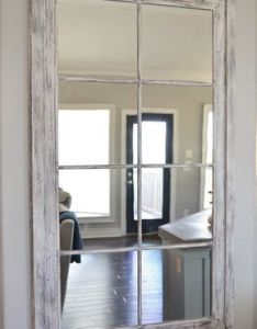 fab diy mirrors you can easily make yourself also window pane mirror rh pinterest