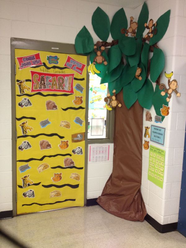 20 Jungle Decorations For Classroom Door Pictures And Ideas On Meta