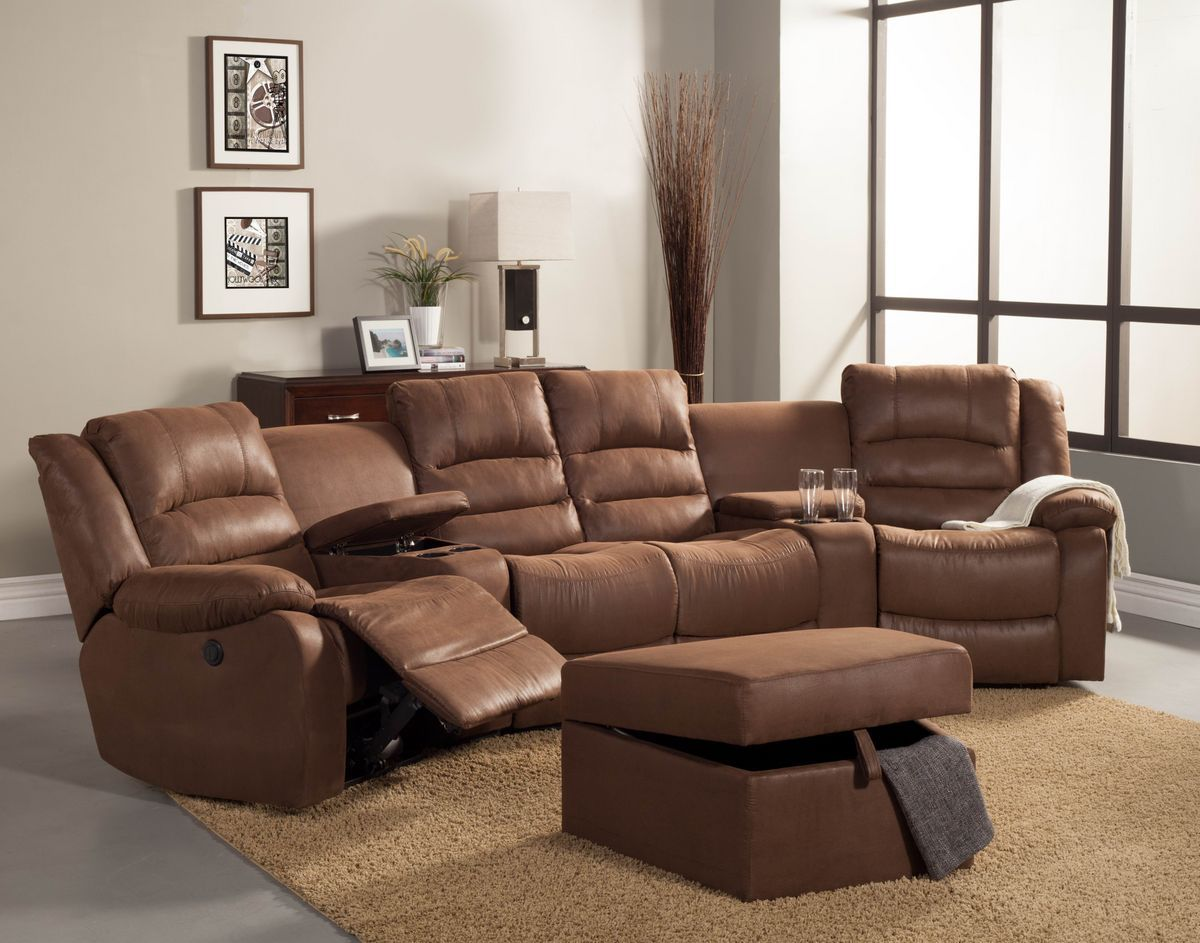 entertainment sofa sets pictures living room 5 pc tucker collection brown bomber jacket microfiber