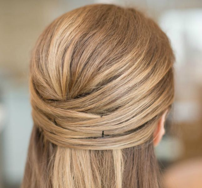12 Long Haired Styles That Take 10 Minutes Or Less Updo Co And