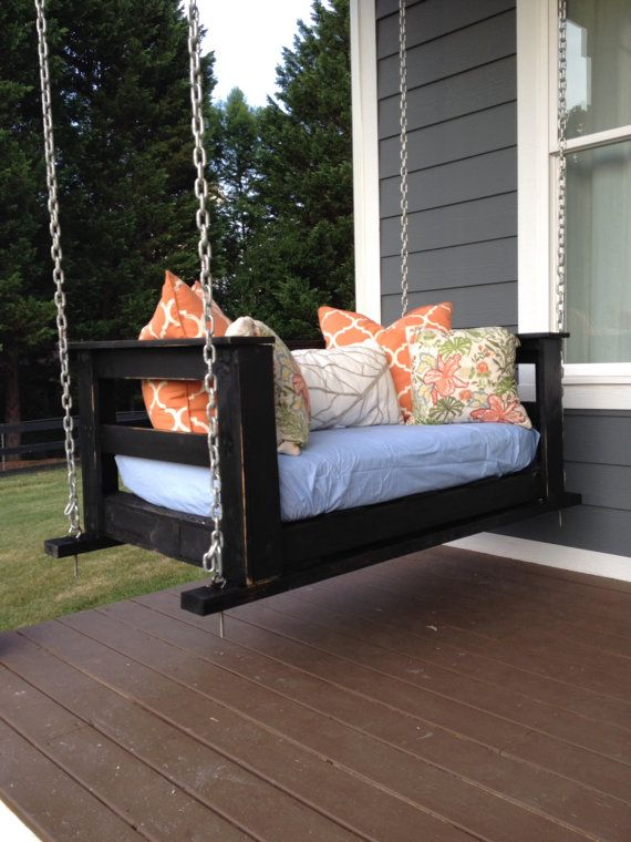 Pallet Swing Sized To Crib Mattress By Palletandcrate On Etsy