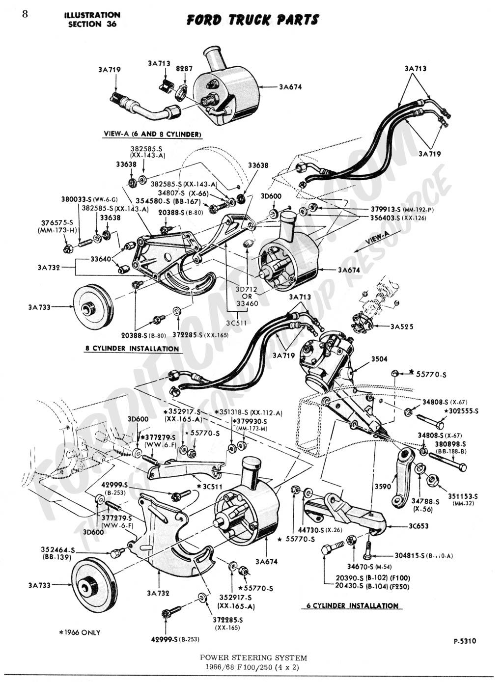 Ford Truck Steering Diagram