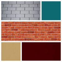 exterior house color schemes with red brick - Google ...