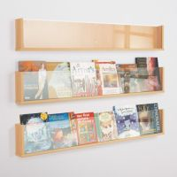 Wooden Shelf Style Wall Mounted Leaflet Holder These wall ...