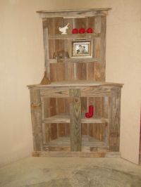 Reclaimed Wood Bookcase, Barnwod furniiture, Reclaimed ...