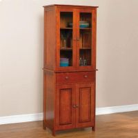 Brylanehome Starburst Tall Hutch Cabinet by BrylaneHome ...