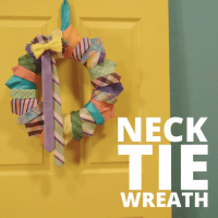 DIY Neck Tie Wreath | For Dad | Pinterest | Wreaths, Craft ...