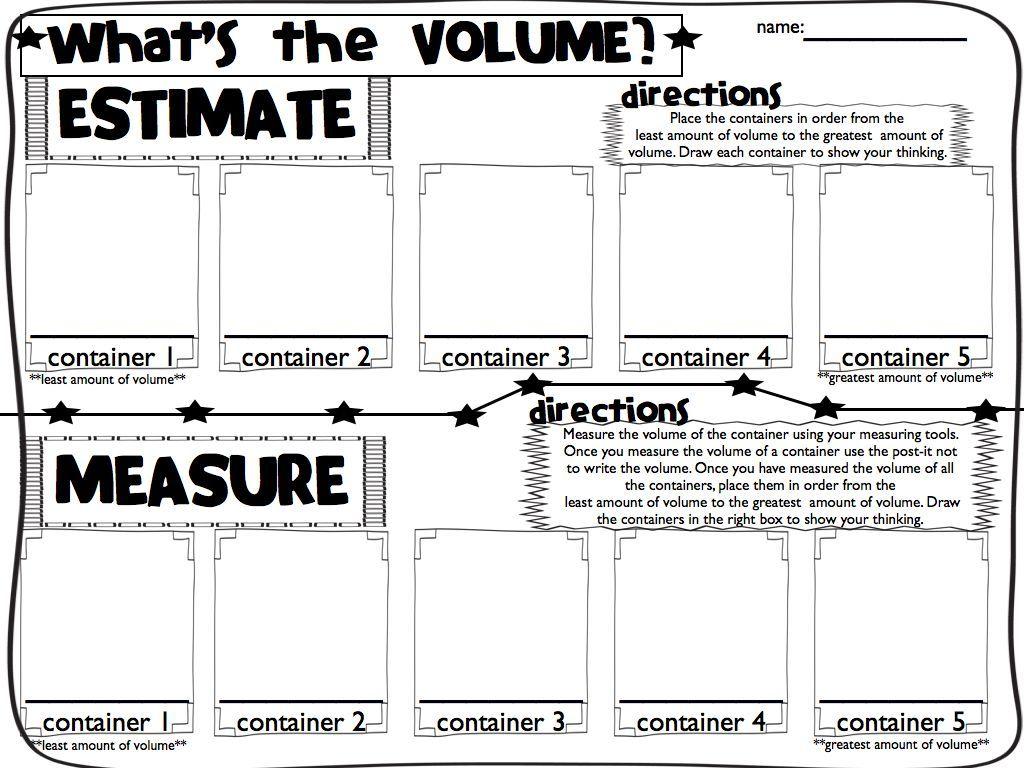 Sweet Seconds Volume Measurement Capacity Time