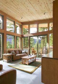 Hillside Home Design Architecture Minimalist Cabin ...