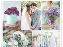 Four Unexpected Wedding Color Schemes That Work | Grey ...