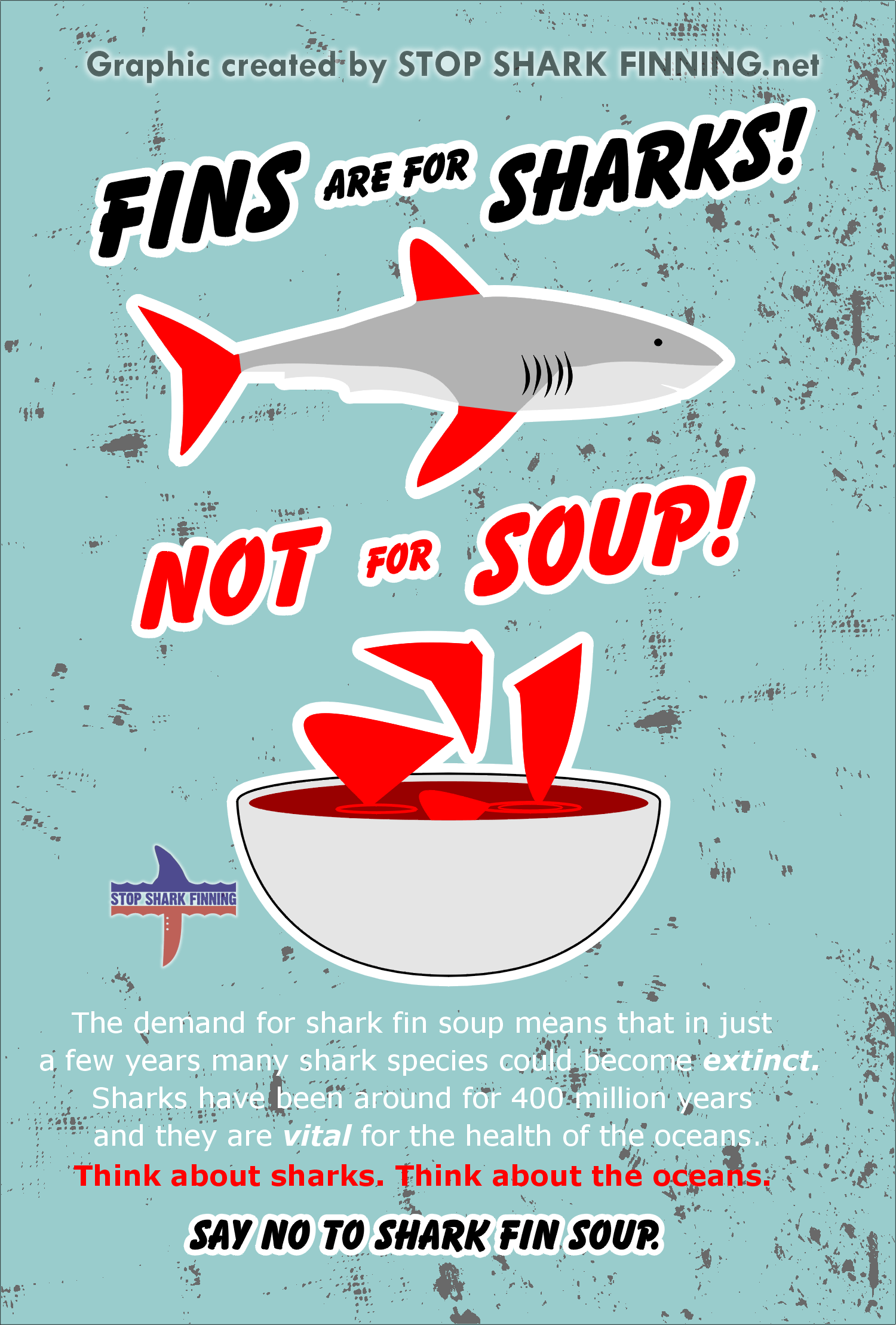 This Poster Shows That Drinking Shark Fin Soup Is So