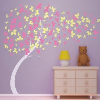 Embellishments of Wall Decals for Girls Room: Tree Wall ...