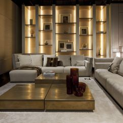 Interior Sofas Living Room Broyhill Reclining Fendi Style Furnitures Luxury Home To