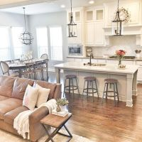 75 Warm and Cozy Farmhouse Style Living Room Decor Ideas ...