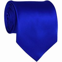 Royal Blue Solid Color Ties Mens Neckties | Groom and ...