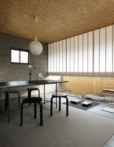 Ogawa sekkei transforms an old house into  landscape architecture studio with rockery also rh pinterest