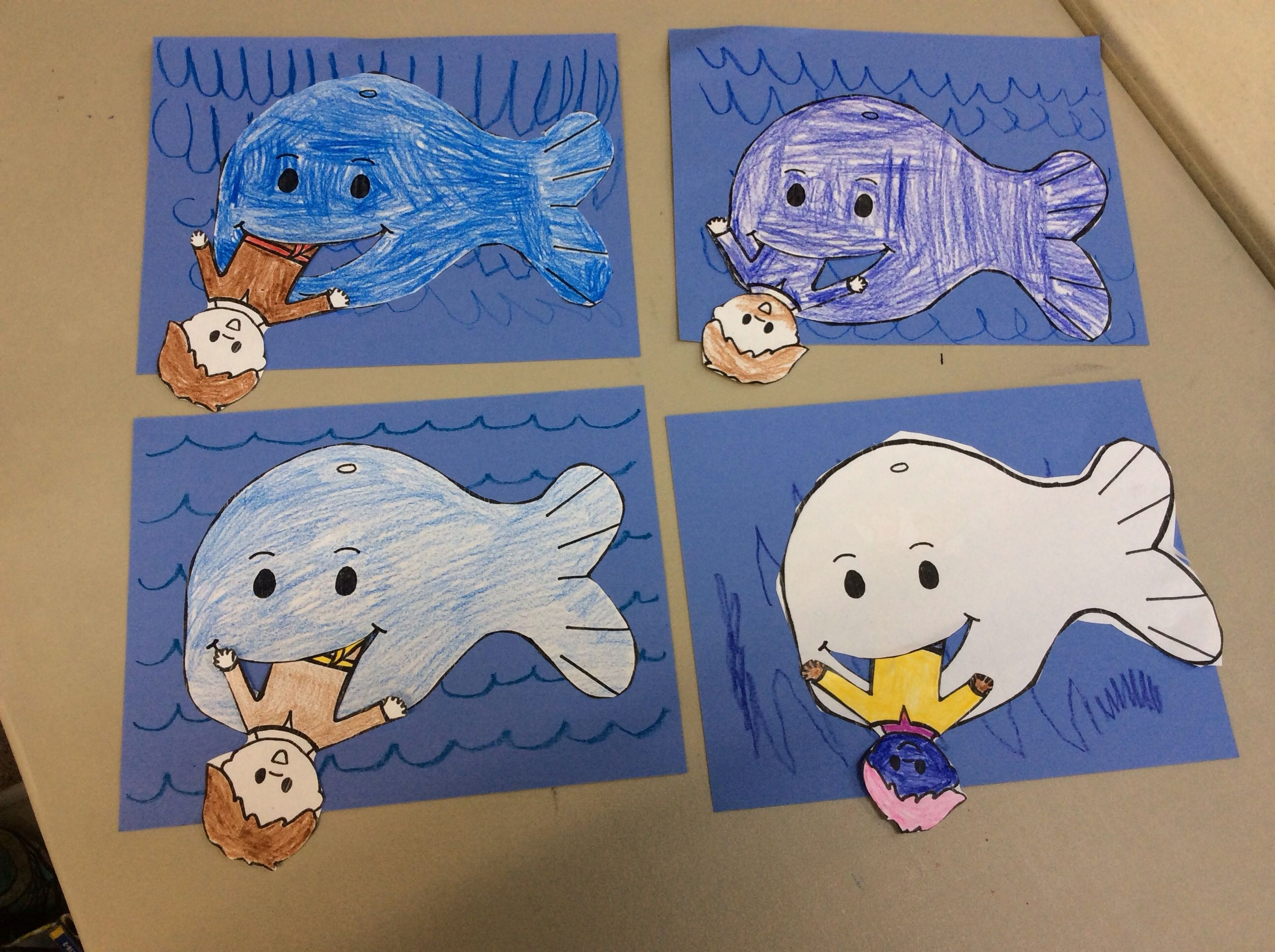 Jonah And The Whale Craft Easy And Fun