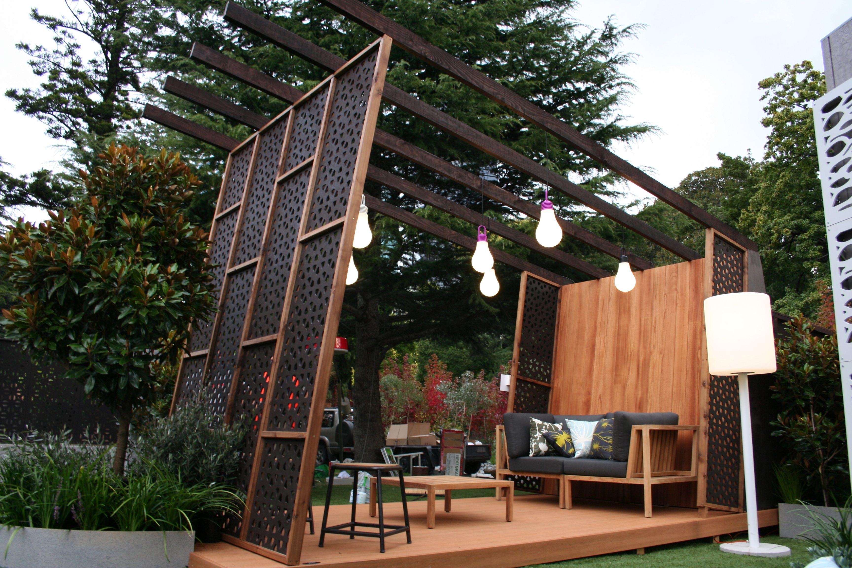 Custom Stylish Metal Laser Cut Panels As Outdoor Decorative Garden