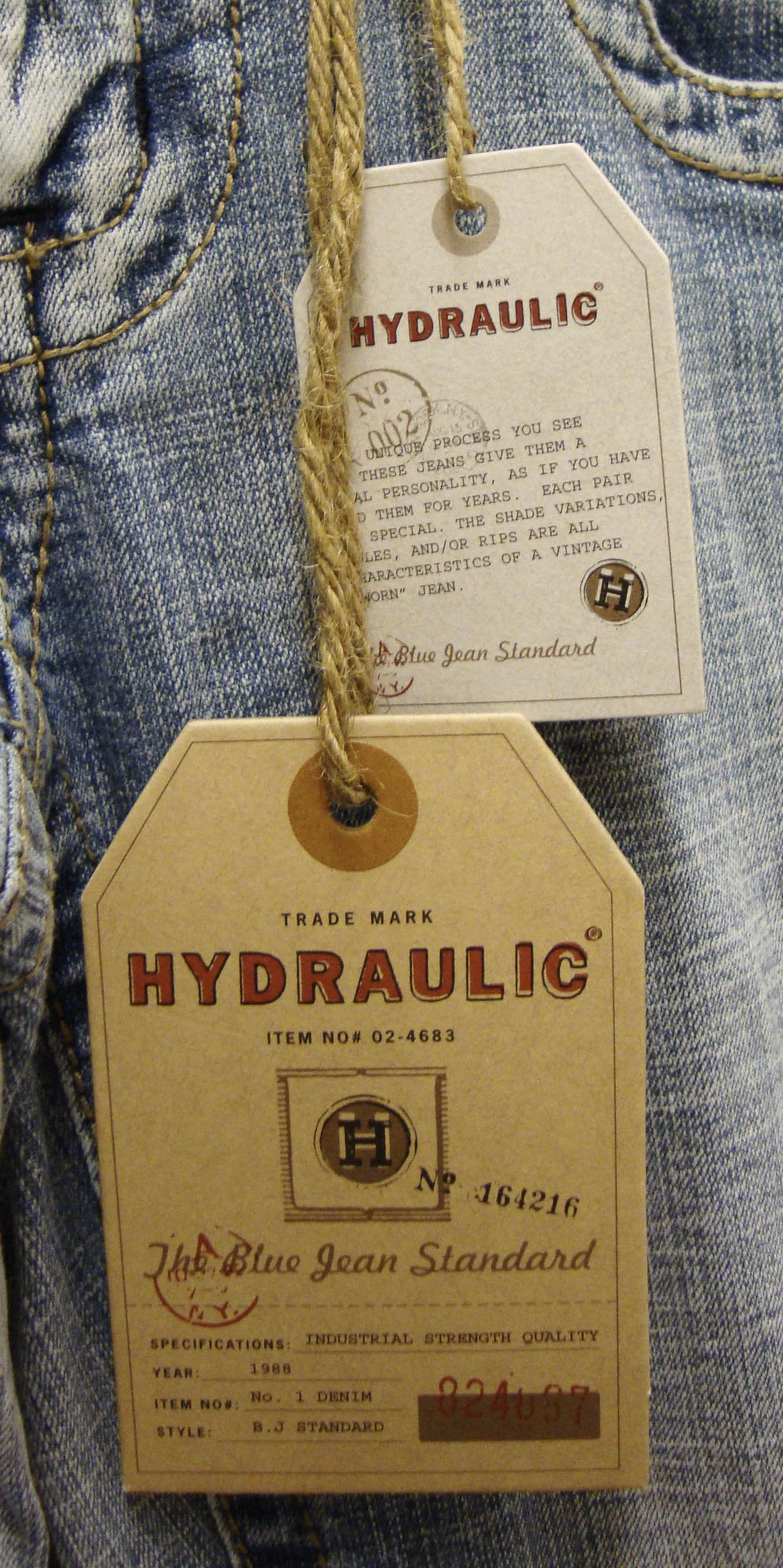Bailey Hydraulic Jeans Fit