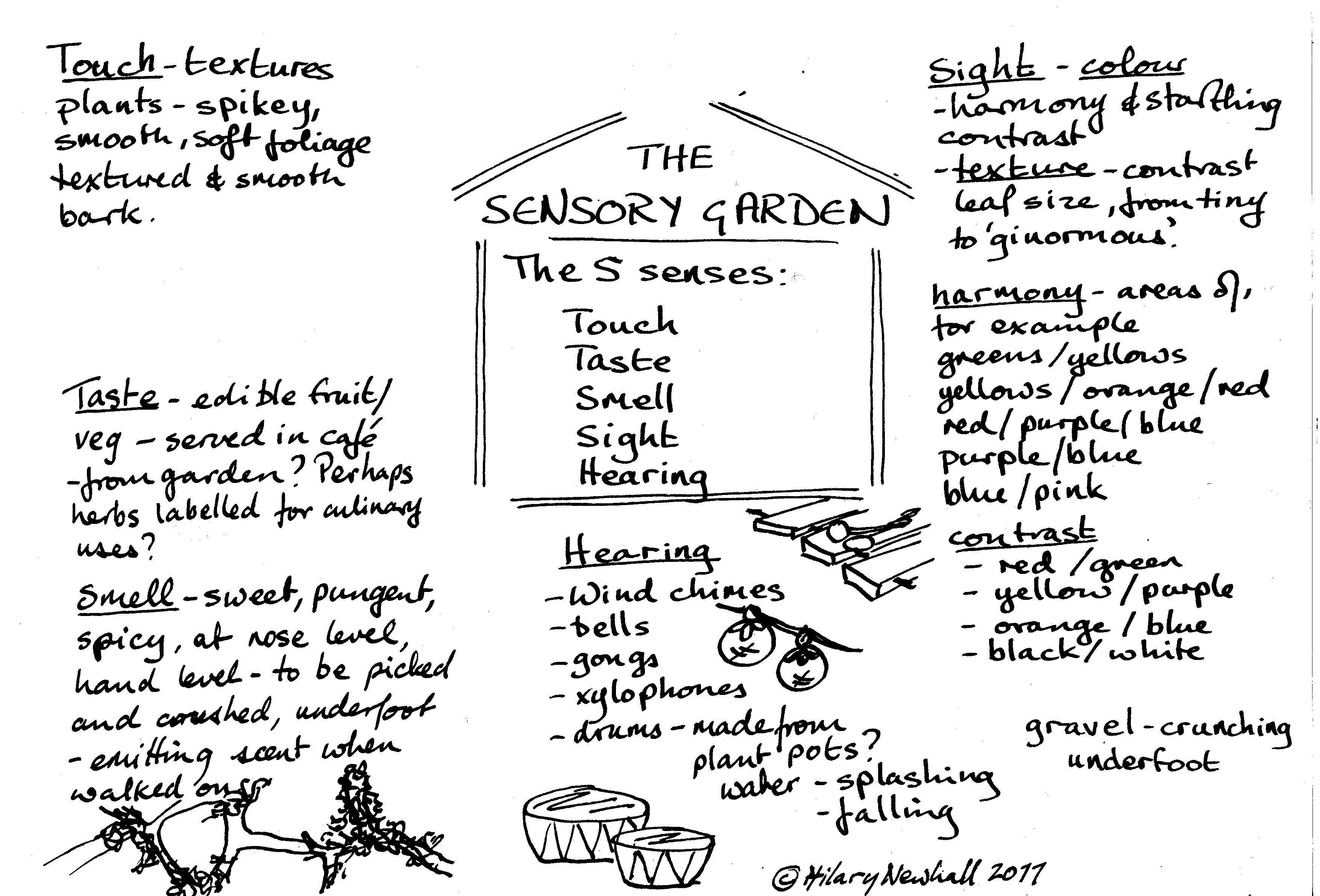 Sensory Garden SURVIVE FRANCE NETWORK Sensory Garden