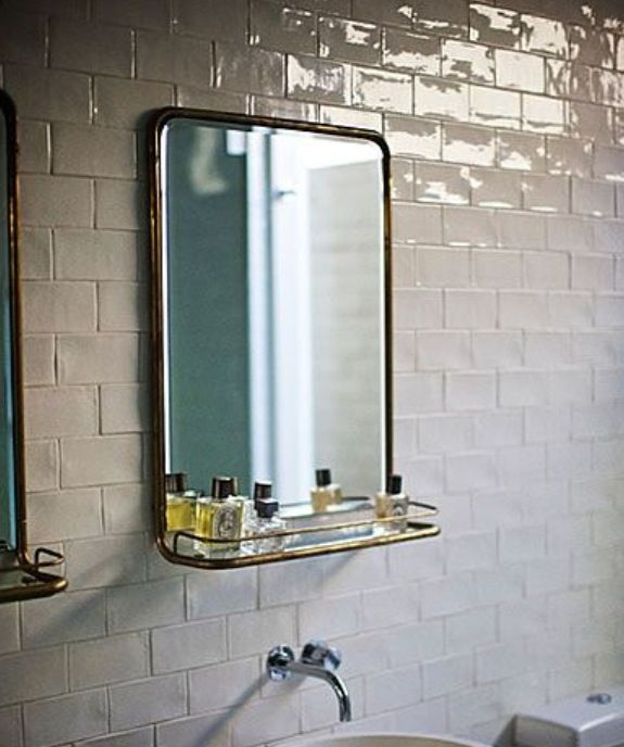 The Simple Beauty of Vintage Metal Mirrors  Brass