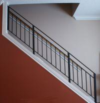 wrought iron stairway railing