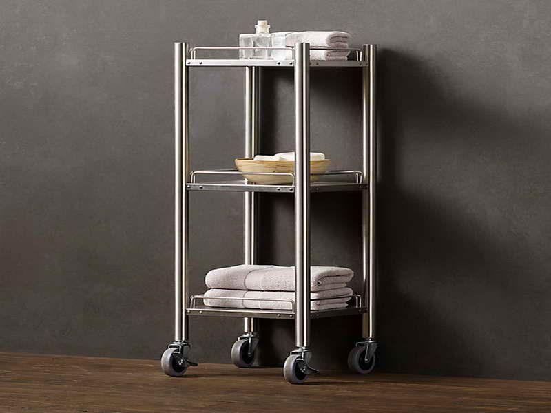 rolling bath cart design ~ http://modtopiastudio/simple