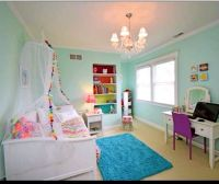 Rainbow unicorn bedroom