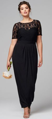 45 Plus Size Wedding Guest Dresses {with Sleeves | Wedding ...