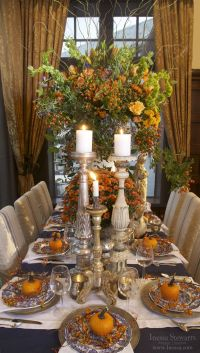 Fall/Autumn, Thanksgiving holiday tablesetting inspiration ...