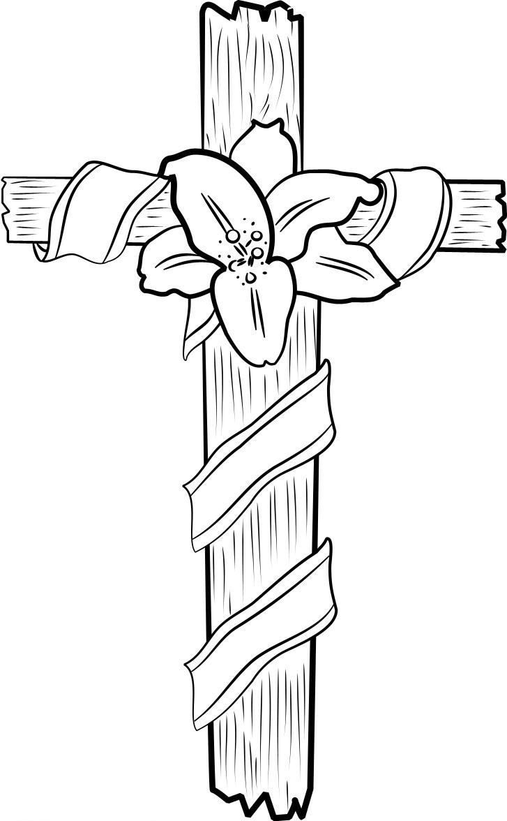 Free Printable Cross Coloring Pages Designkids Info Free