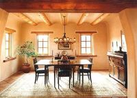 The interior of a 1929 English Tudor cottage has been made