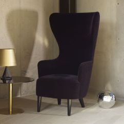 Tom Dixon Wingback Chair Rustic Metal Dining Chairs Uk Black And Armchairs