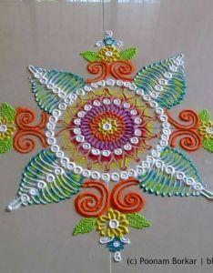 Diwali craftfestival decorationsrangoli designsamazing also beautiful and innovative multicolored rangoli creative rh pinterest