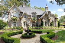 Old World French Country House Plans