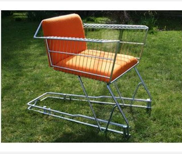 Repurposed Furniture Shopping Carts Are Public Domain Bubbles From Workaholics