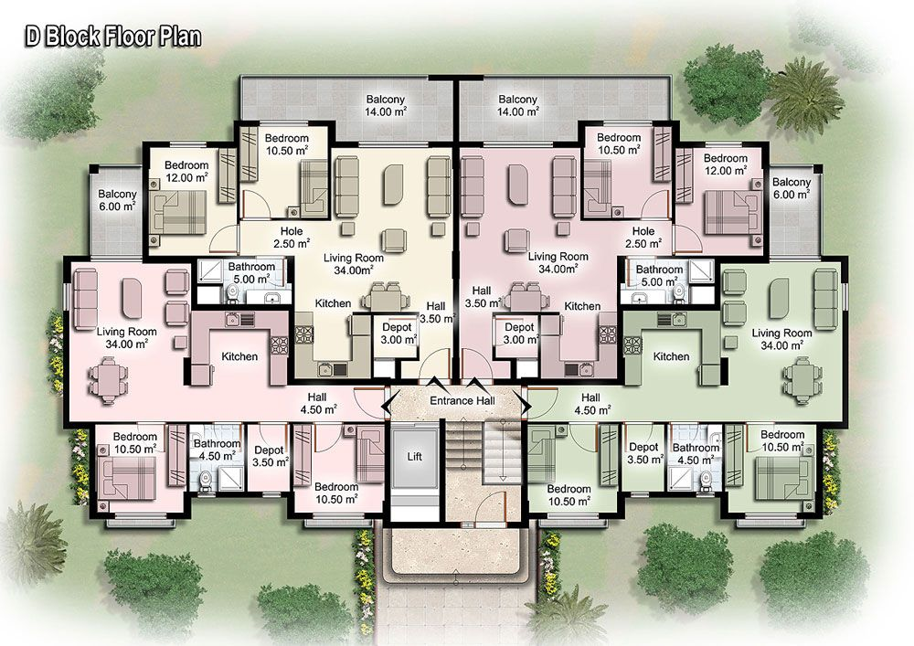 apartment unit plans