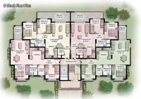apartment unit plans | modern apartment building plans in ...